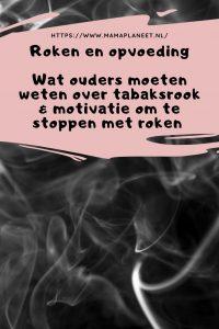Tabaksrook in een huis vol kinderen | Wat ouders motiveert om te stoppen met roken MamaPlaneet.nl