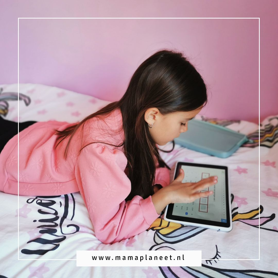 Kurio Tab XL tablet voor kinderen review MamaPlaneet.nl