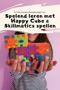 Happy Cube Junior & Skillmatics spellen voor kinderen review MamaPlaneet.nl