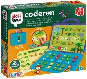 Jumbo educatieve spellen Ik leer coderen Sinterklaas of Kerst cadeau Amazon verlanglijstje MamaPlaneet.nl