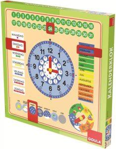 houten kalender klok als Sinterklaas Kerst cadeau voor kind amazon verlanglijstje mamaplaneet.nl