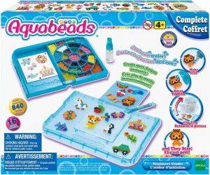 Aquabeads 32808 Mega Safari Knutselboxset, voor Kinderen vanaf 4 Jaar Kerst of Sint cadeau Amazon verlanglijstje mamaplaneet.nl