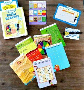 Skillmatics Brein Brekers schrijf en wiskaarten spelenderwijs leren out of box denken MamaPlaneet.nl