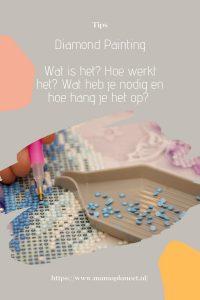 Diamond Painting handleiding voor beginners MamapLaneet.nl