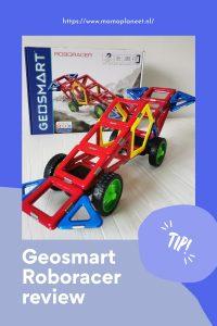 Magnetisch constructiemateriaal Geosmart Roboracer educatief bouwspeelgoed voor peuters MamaPlaneet.nl