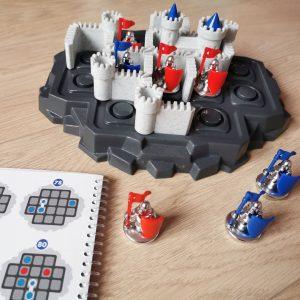 Denkspel puzzelgames Walls & Warriors MamaPlaneet