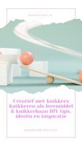 Knikker spelletjes, leukste knikkerbanen als leermiddel en DIY Mamaplaneet.nl