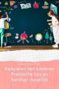 Kamperen met kinderen: tips en handige inpaklijst