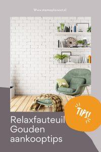 relaxstoel aanschaffen tips MamaPlaneet.nl