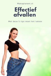 Effectief afvallen tips en adviezen MamaPlaneet.nl
