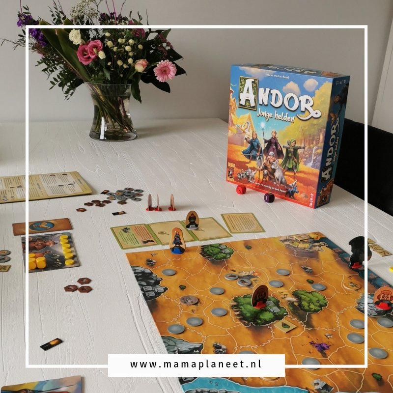 De Legenden van Andor: De jonge helden bordspel 999 games review MamaPlaneet.nl