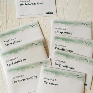 Enveloppen legacy bordspel voor het hele gezin van Reiner Knizia en Michael Menzel 999 games MamaPlaneet.nl