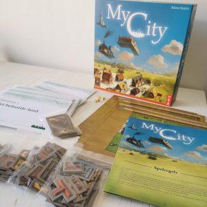 My City bordspel verpakking 999 games inhoud, spelregels en review legacy tegellegspel MamaPlaneet.nl