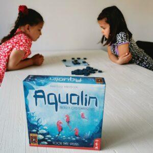 Aqualin een 999 spel voor 2 spelers mamaplaneet.nl