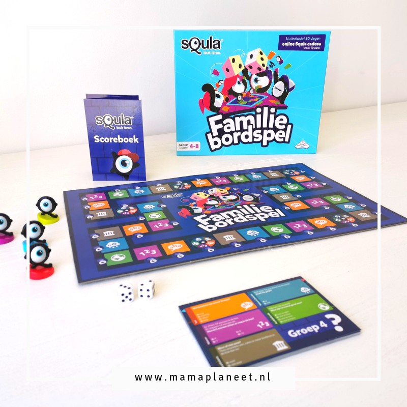 Squla Familiebordspel bordspel review MamaPlaneet.nl