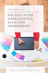 Eigen huisstijl logo kiezen bedrijf mamaplaneet.nl