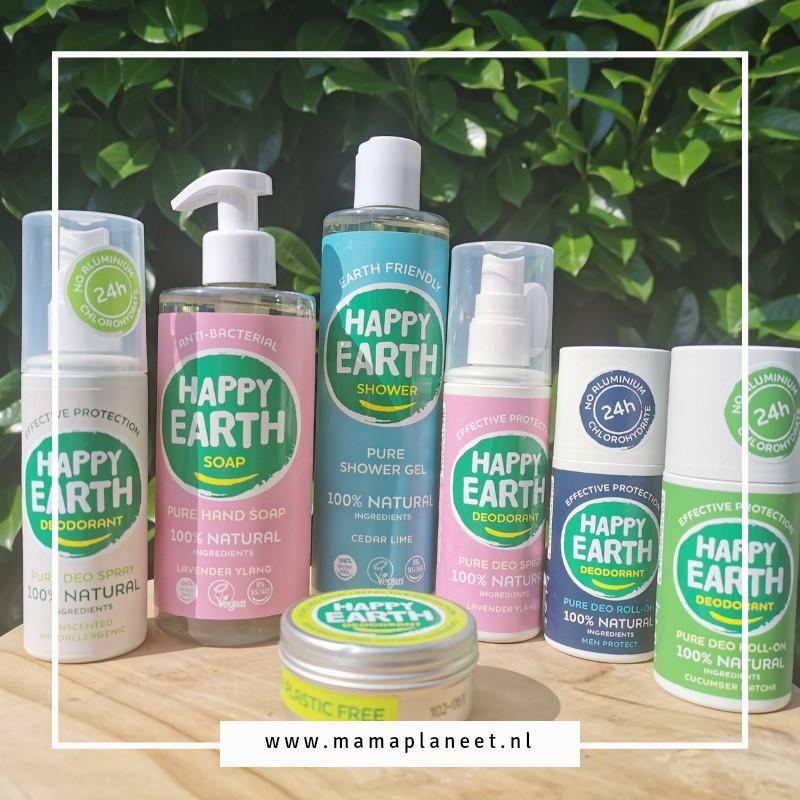 Natuurlijke huidverzorging voor baby, kind en volwassenen Happy Earth MamaPlaneet.nl