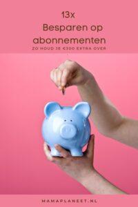 Besparen op Internet,telefoon, televisie (alles in 1), wegenwacht of sportschool abonnement bespaartips mamaplaneet.nl