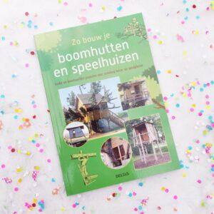 Zomerlezen tip How to boomhutten en speelhuizen bouwen voor kinderen boek mamaplaneet.nl