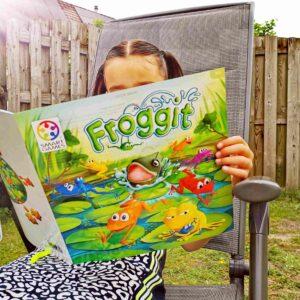 Spelregels SMartgames Froggit lezen tijdens zomerlezen leestips mamaplaneet.nl