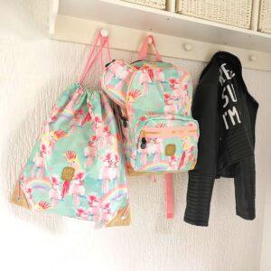 Pick Pack Bags Back to school tas kind duurzaam leuke prints collectie mamaplaneet.nl