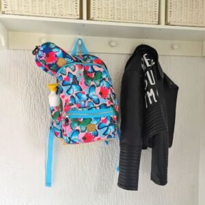 Pick & Pack Beautiful Butterfly Backpack M Multi pastel Back to School spullen kind mamaplaneet.nl