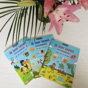 Leuke Ik leer lezen doeboekjes met stickers voor beginnende lezers en kinderen mamaplaneet.nl