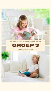 Leukste kinderboeken groep 3 AVI Start AVI M3 AVI E3 leesboeken voorleesboeken MamaPlaneet.nl