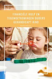 Financiele hulp en vergoedingen ouders gehandicapt kind MamaPlaneet.nl