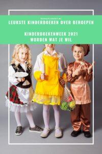Kinderboeken over beroepen & Kinderboekenweek 2021: Worden wat je wil boekentips mamaplaneet.nl
